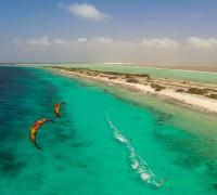 Kiting on Bonaire
