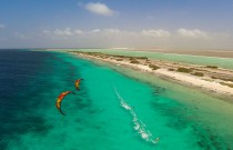 Kiting on Bonaire